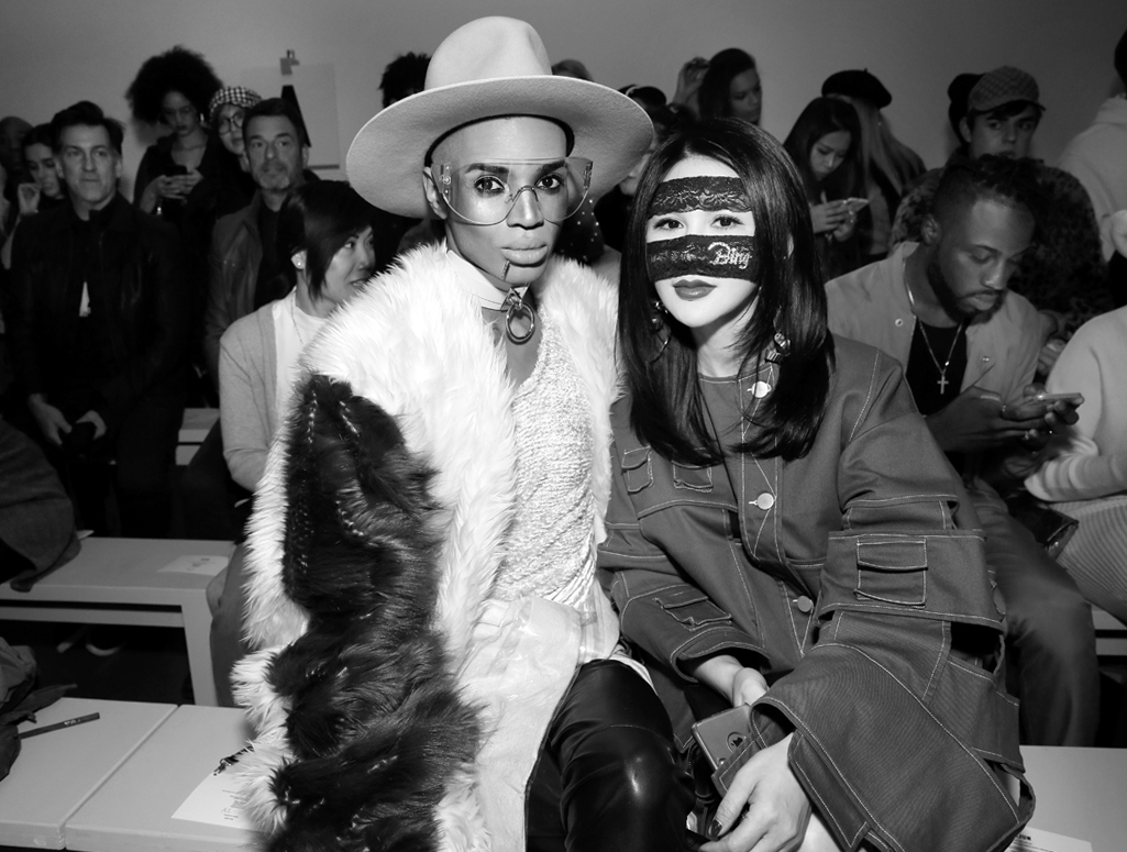 Stevie Boi Front Row@Yajun NYFW FW2018 photo by Cheryl Gorski 23