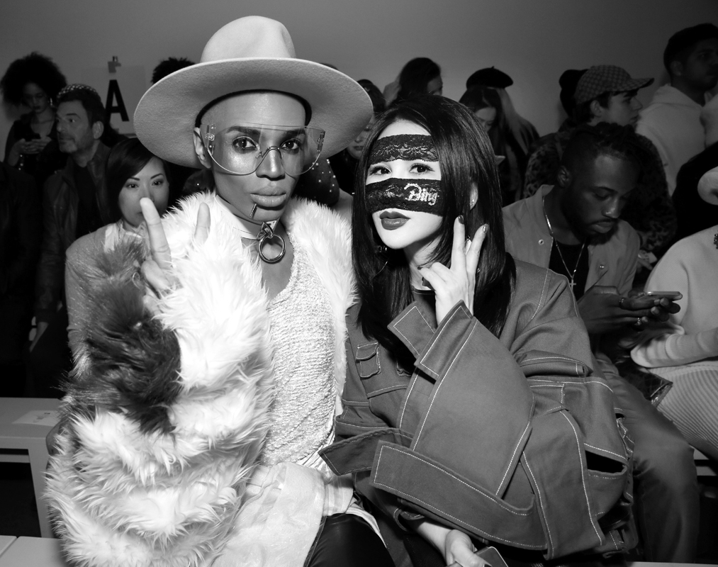 Stevie Boi Front Row@Yajun NYFW FW2018 photo by Cheryl Gorski 24