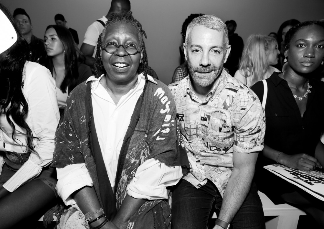 Whoopi Goldberg and Tom Leonardis Front Row@Hogan McLaughlin NYFW SS2019 photo by Cheryl Gorski 8