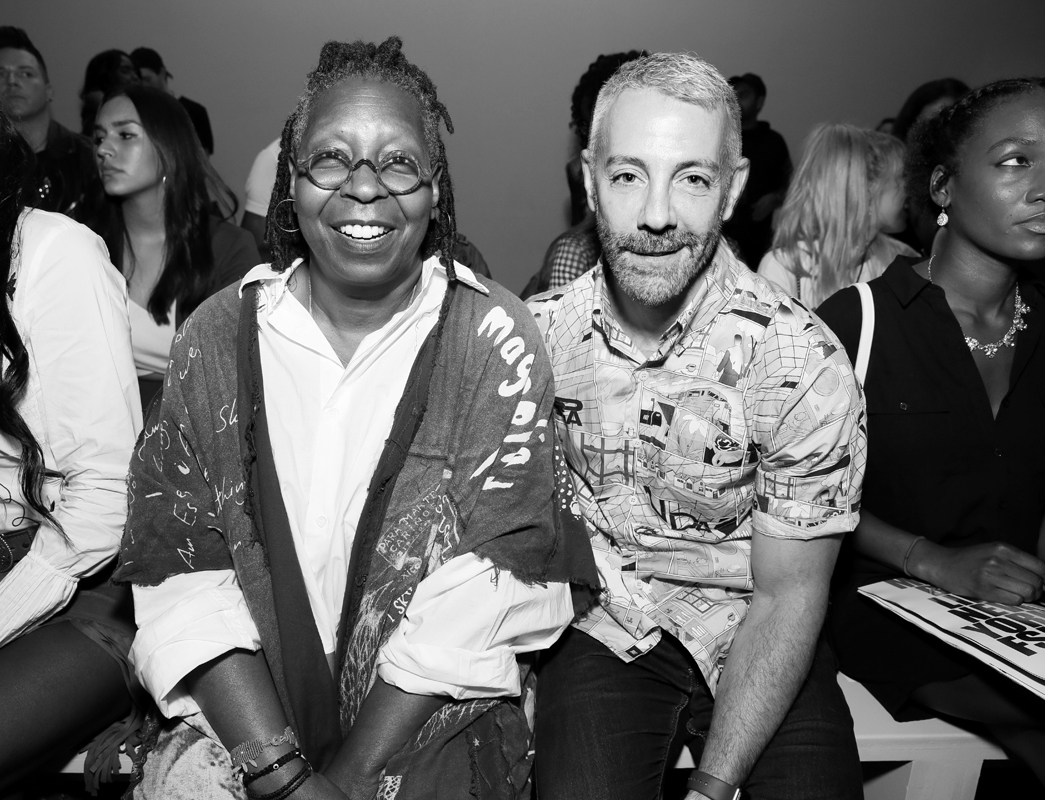 Whoopi Goldberg and Tom Leonardis Front Row@Hogan McLaughlin NYFW SS2019 photo by Cheryl Gorski 9