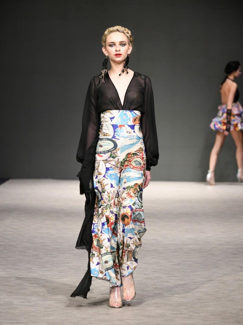 Yas Gonzalez Vancouver Fashion Week SS2019 15