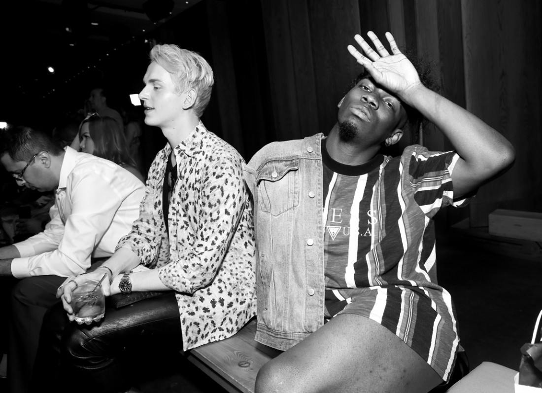 Front Row@Grungy Gentleman Mens NYFW SS2019 photo by Cheryl Gorski 35