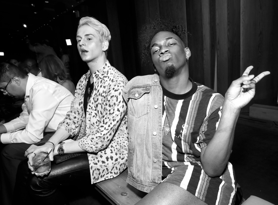 Front Row@Grungy Gentleman Mens NYFW SS2019 photo by Cheryl Gorski 36