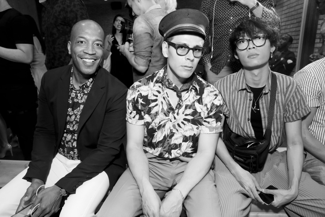 Front Row@Grungy Gentleman Mens NYFW SS2019 photo by Cheryl Gorski 57