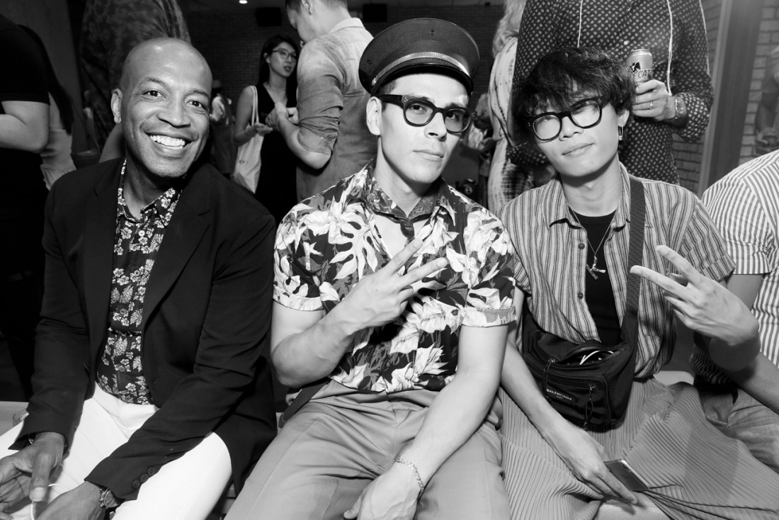 Front Row@Grungy Gentleman Mens NYFW SS2019 photo by Cheryl Gorski 58
