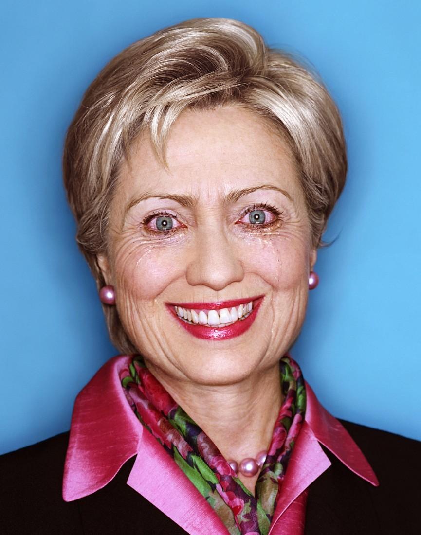 LaChapelle HillaryClinton
