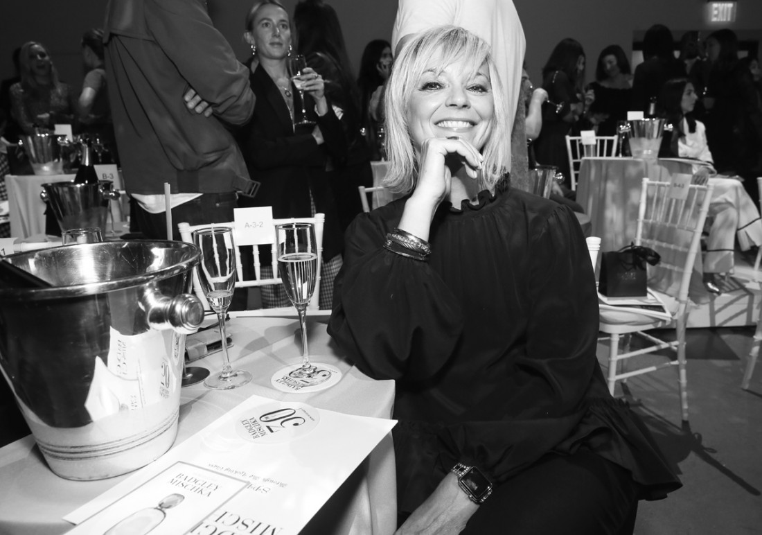 Avril Graham Front Row@Badgley Mischka NYFW SS19 photo by Cheryl Gorski 42