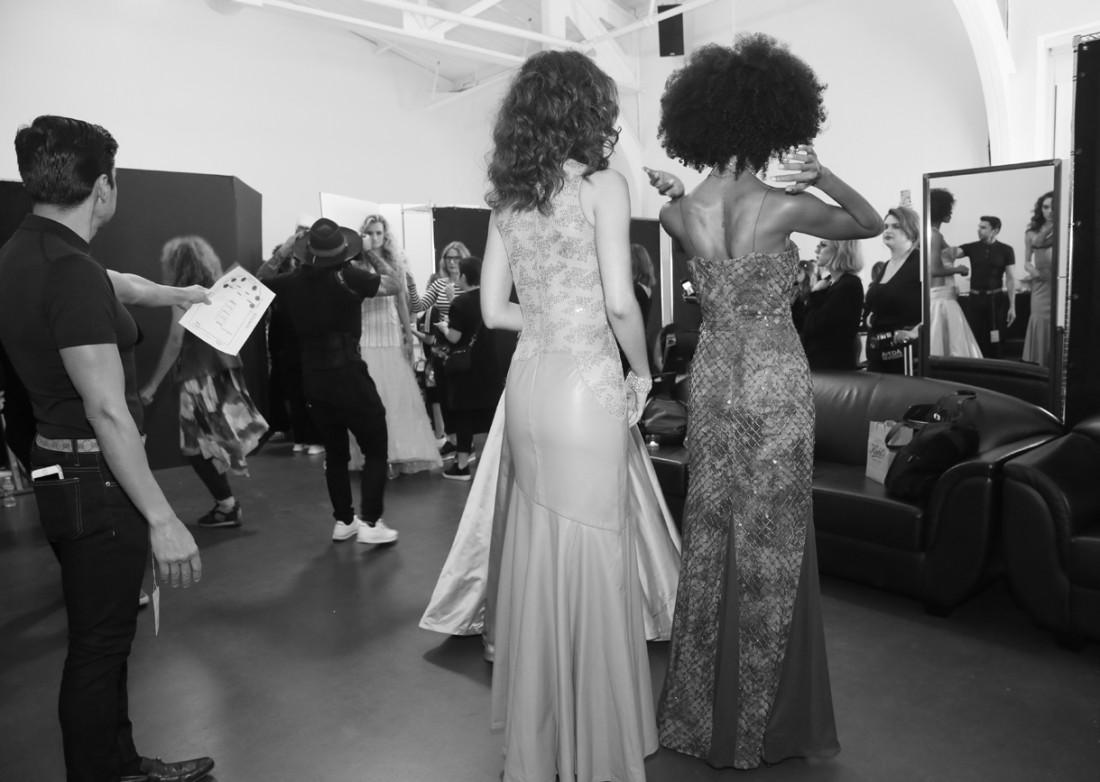 Backstage@Fusha NYFW SS2019 photo by Cheryl Gorski 1