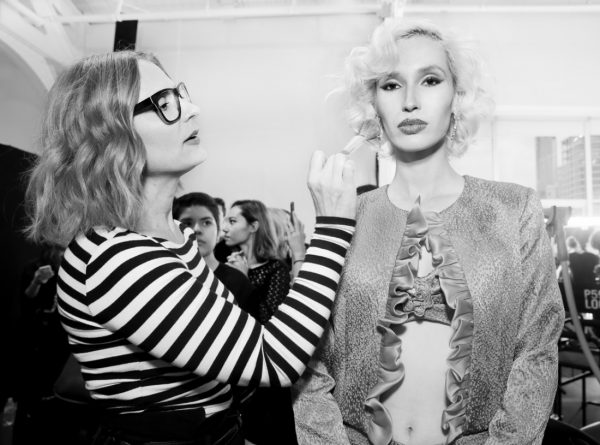 Backstage@Fusha NYFW SS2019 photo by Cheryl Gorski 10