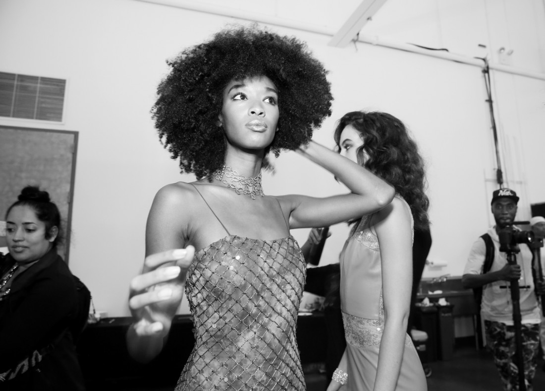 Backstage@Fusha NYFW SS2019 photo by Cheryl Gorski 7