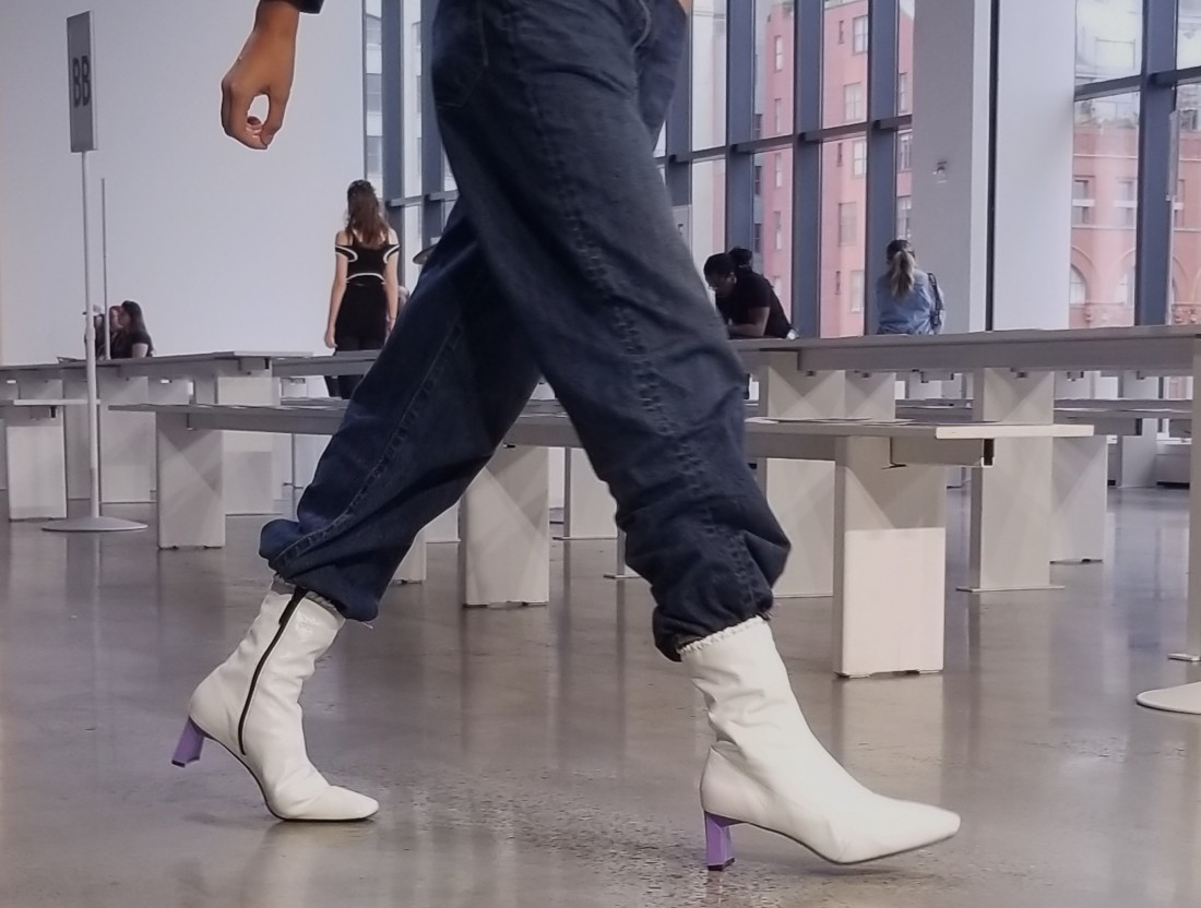 Behind the Scenes @ C plus SERIES NYFW SS2019 photos by Leah Kim 26