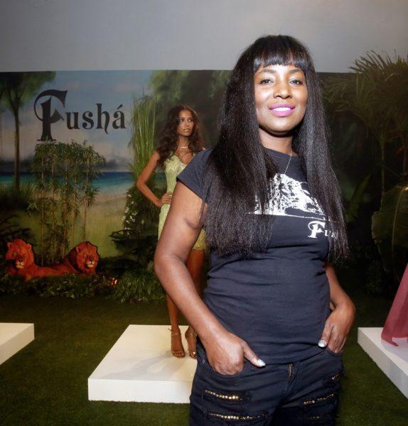 Claudinette Jean Designer of Fusha NYFW SS2019 photo by Cheryl Gorski 13