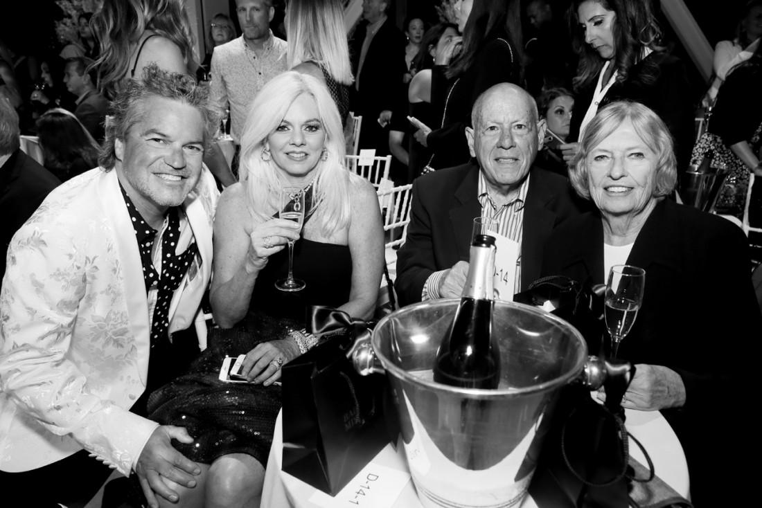 Front Row@Badgley Mischka NYFW SS19 photo by Cheryl Gorski 51