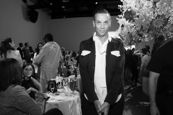 James Aguiar Front Row@Badgley Mischka NYFW SS19 photo by Cheryl Gorski 13