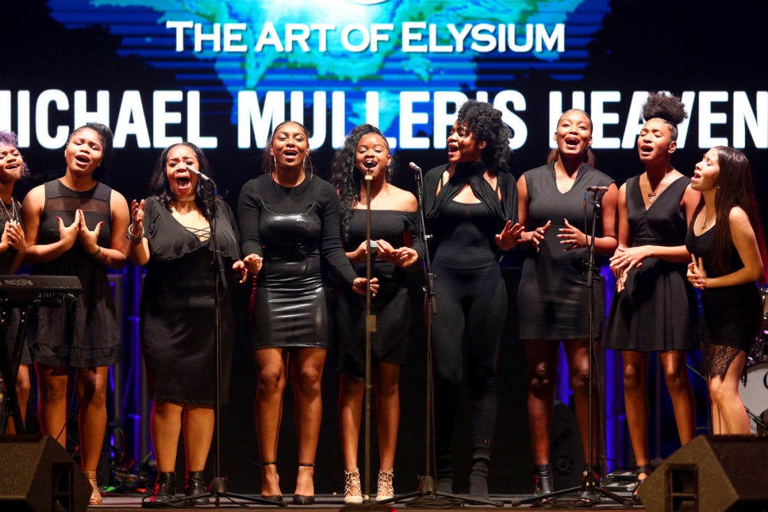 Michael Mullers HEAVEN by The Art of Elysium photos by Rich Polk for Getty Images 101
