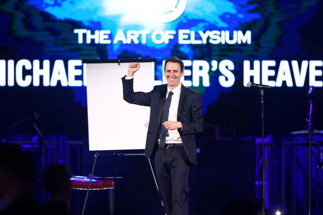 Michael Mullers HEAVEN by The Art of Elysium photos by Rich Polk for Getty Images 91