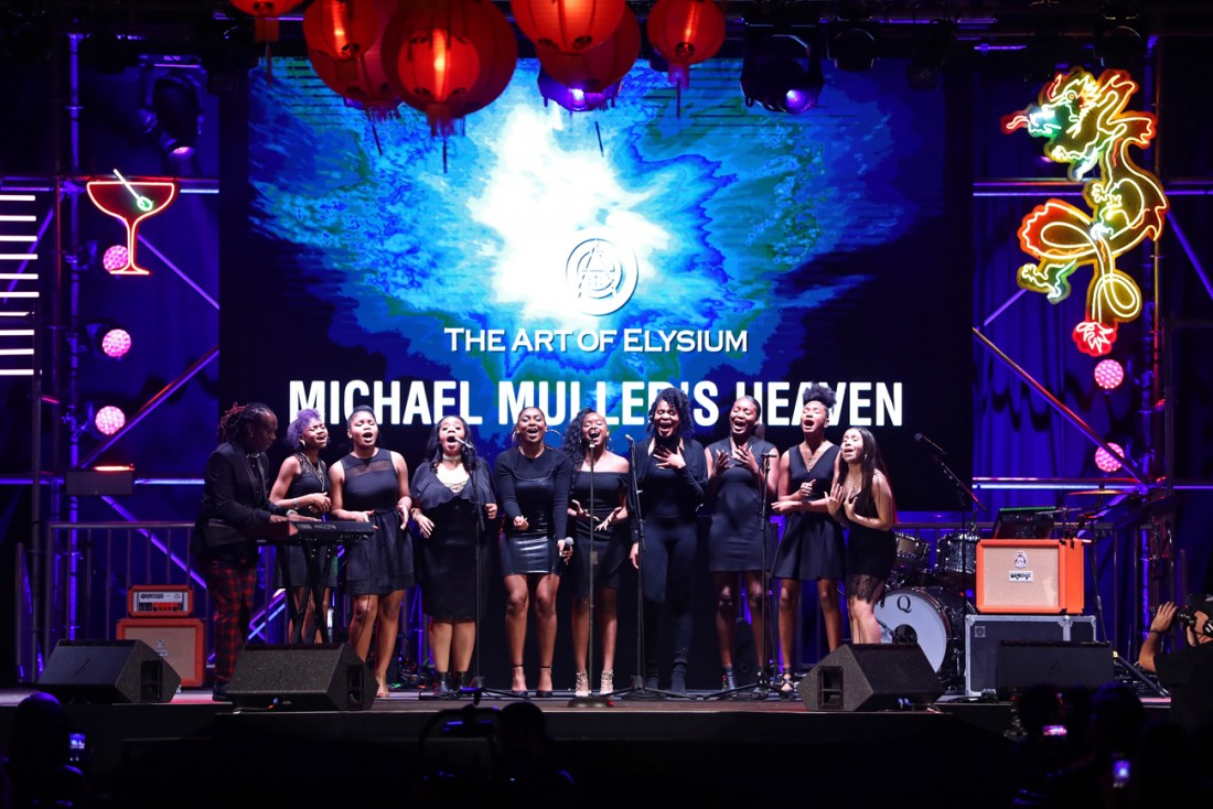 Michael Mullers HEAVEN by The Art of Elysium photos by Rich Polk for Getty Images 99