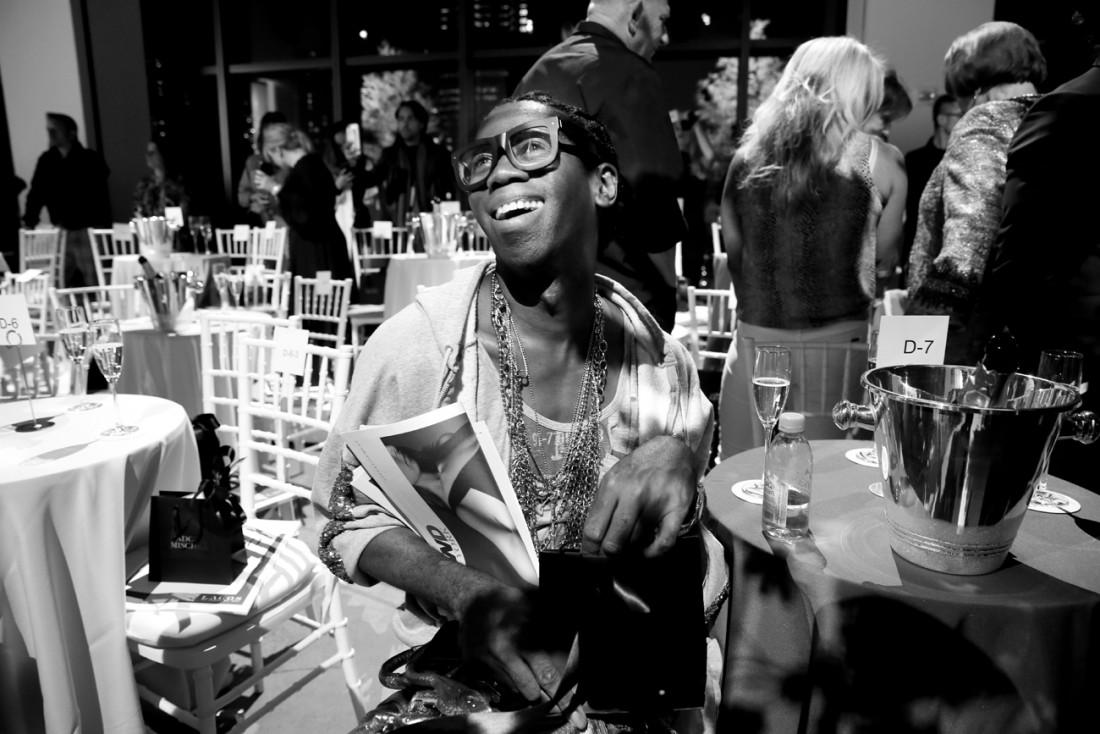 Miss J. Alexander Front Row@Badgley Mischka NYFW SS19 photo by Cheryl Gorski 21