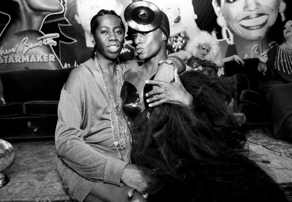 Miss J. Alexander and Jonte as Grace Jones @ RICHARD BERNSTEIN STARMAKER ANDY WARHOLS COVER ARTIST BOOK LAUNCH photo by Cheryl Gorski 35
