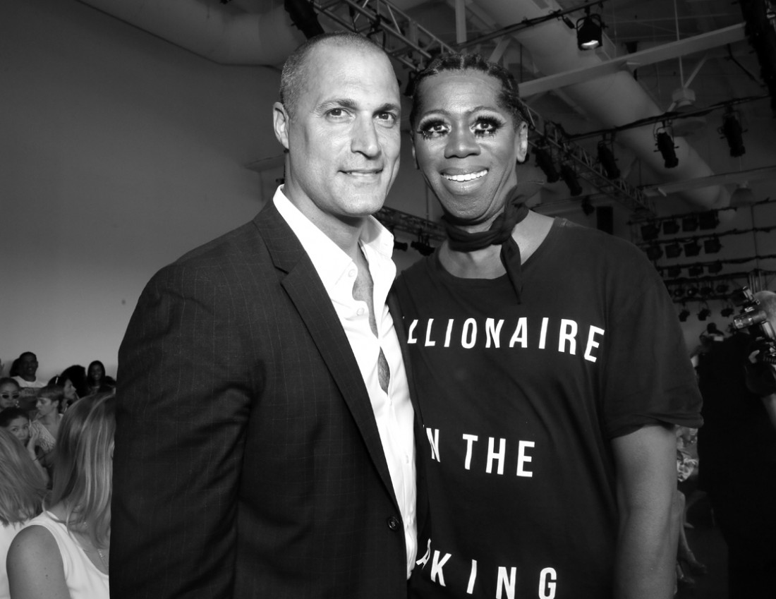 Nigel Barker and Miss J. Alexander Front Row@ Pamella Roland NYFW SS2019 photos by Cheryl Gorski 36
