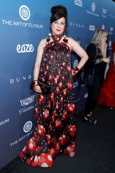 Red Carpet@Michael Mullers HEAVEN by The Art of Elysium photos by Rich Polk for Getty Images 96