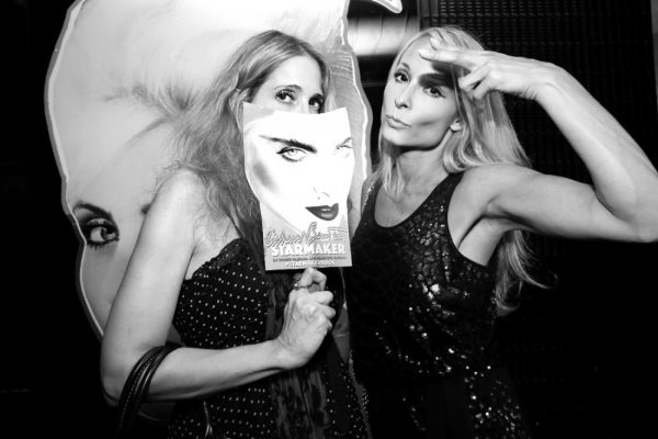 Susan Kirschbaum and Indira Cesarine @ RICHARD BERNSTEIN STARMAKER ANDY WARHOLS COVER ARTIST BOOK LAUNCH photo by Cheryl Gorski 93