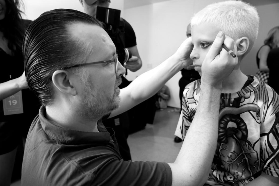 Backstage@The Blonds NYFW SS2019 photo by Cheryl Gorski 51
