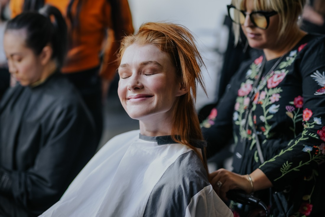 Global Fashion Collective Pier59Studios NYFW FW19 Backstage by Aly Kuler 2265