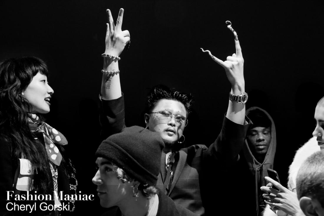 Front Row@Kim Shui NYFW FW2019 photo by Cheryl Gorski 92