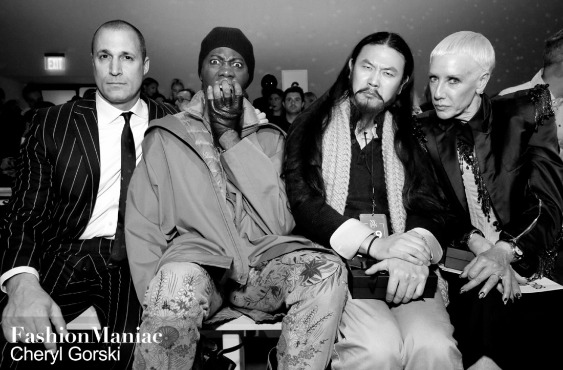 Nigel Barker Miss. J Alexander and Jan Arnold Front Row@The Blonds NYFW FW2019 photo by Cheryl Gorski 57