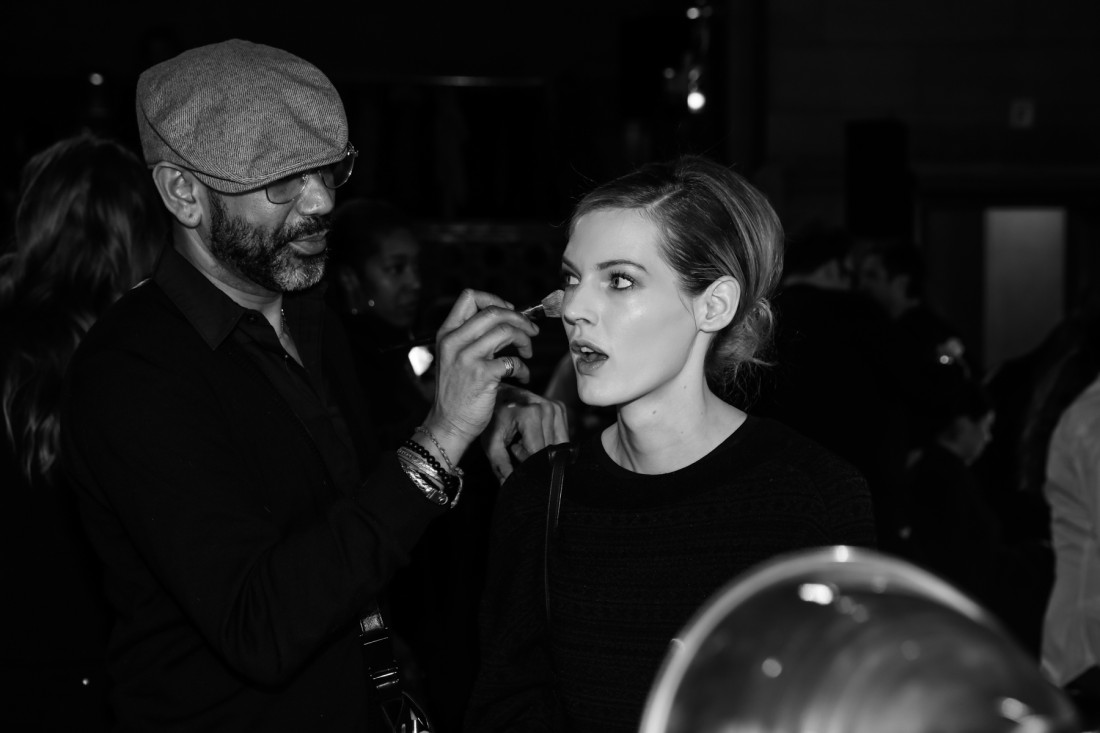 Backstage @Dennis Basso NYFW2019 photo by Marisa Pena 5