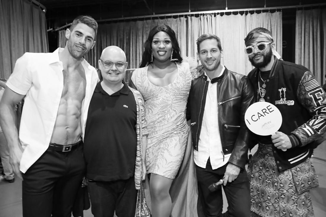 Backstage@Jeffrey Fashion Cares 2019 photo by Cheryl Gorski 71 1