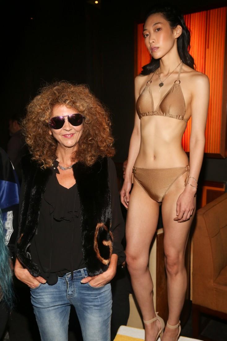Brigitte Segura@Untitled Magazine Ladyship Swim After Party NYFW SS2019 photo by Dustin Wayne Harris 3