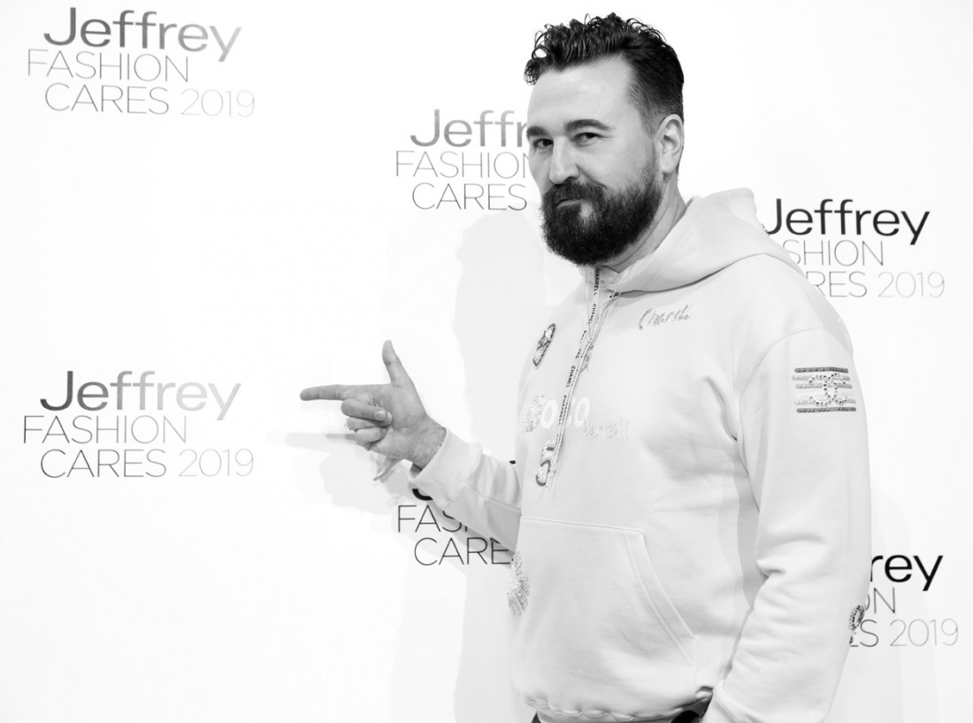 Chris Salgardo@Jeffrey Fashion Cares 2019 photo by Cheryl Gorski 46