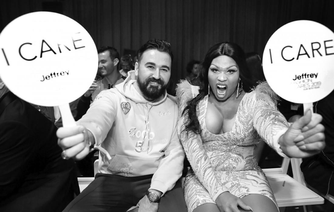 Front Row@Jeffrey Fashion Cares 2019 photo by Cheryl Gorski 38