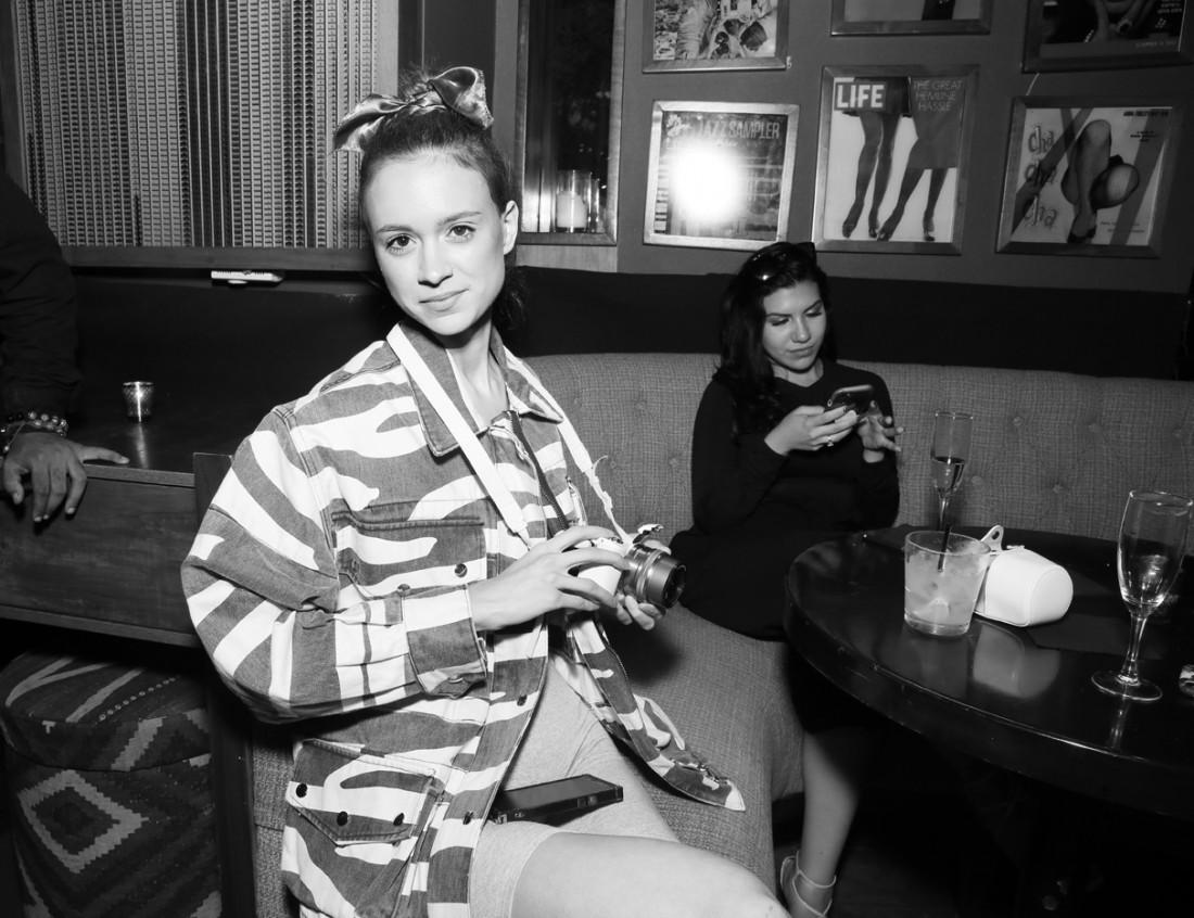 Guest@Untitled Magazine Ladyship Swim After Party NYFW SS2019 photo by Cheryl Gorski 20