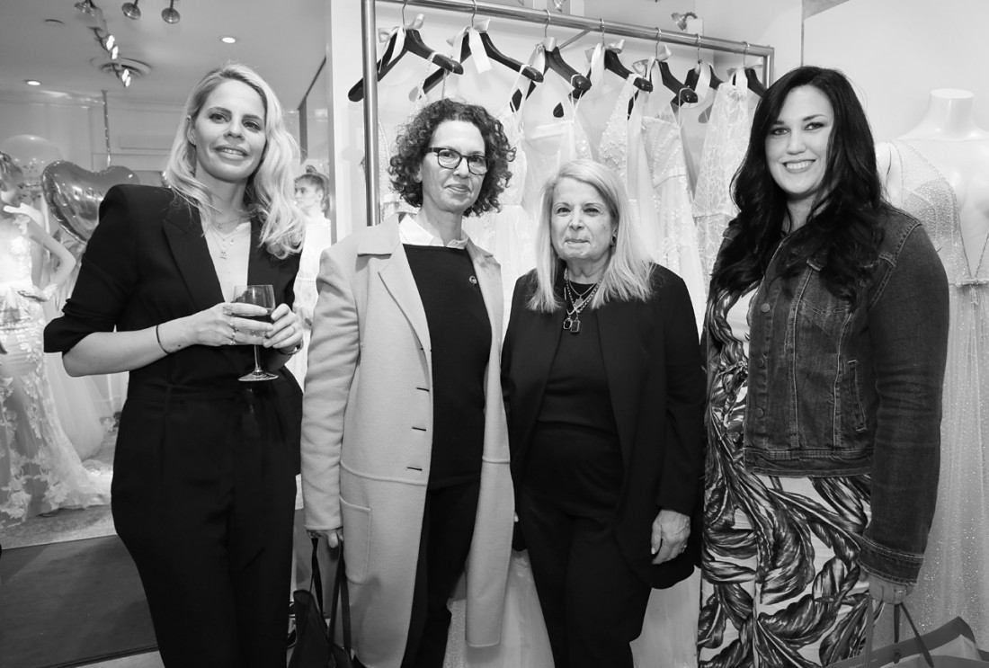 Guests@Eisen Stein Bridal NYFW Spring 2020 photo by Cheryl Gorski 3