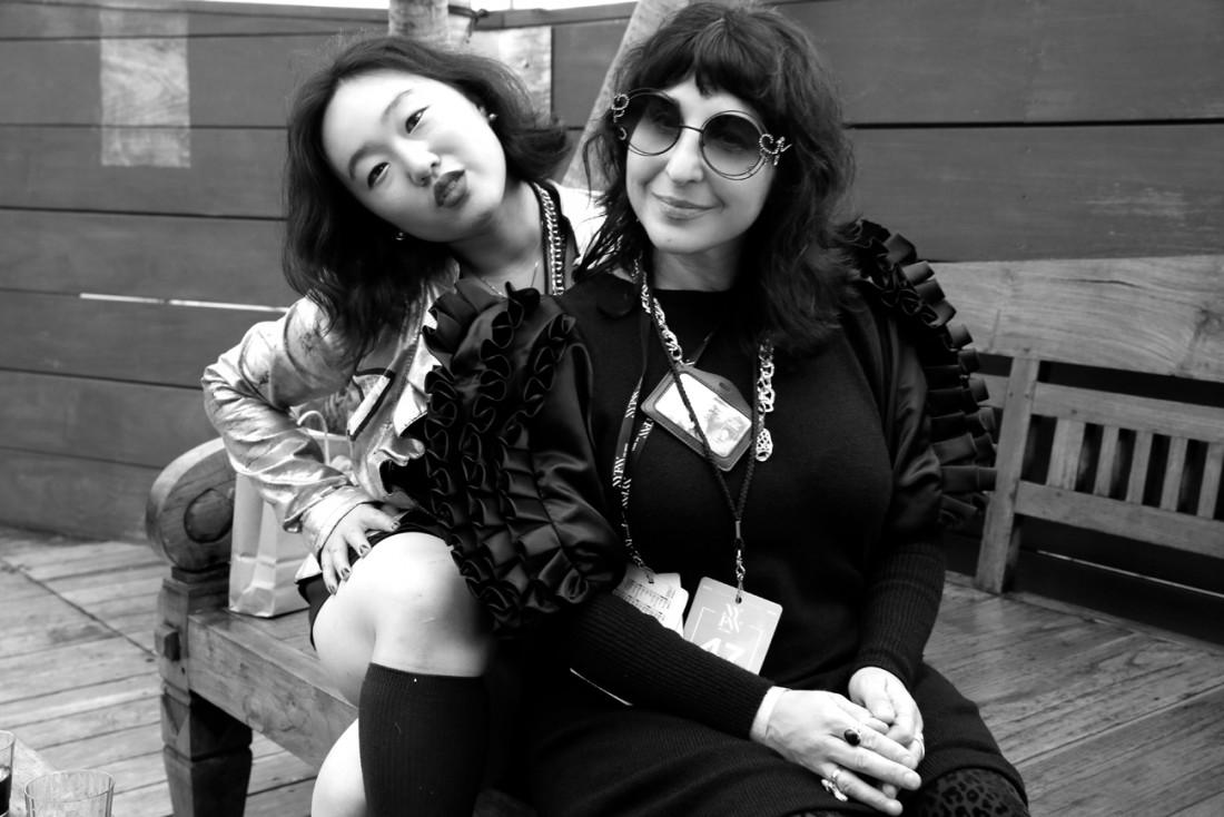 Leah Kim and Cheryl Gorski @ Smoke Break@Pier 59 NYFW SS2019 photo by Cheryl Gorski 24