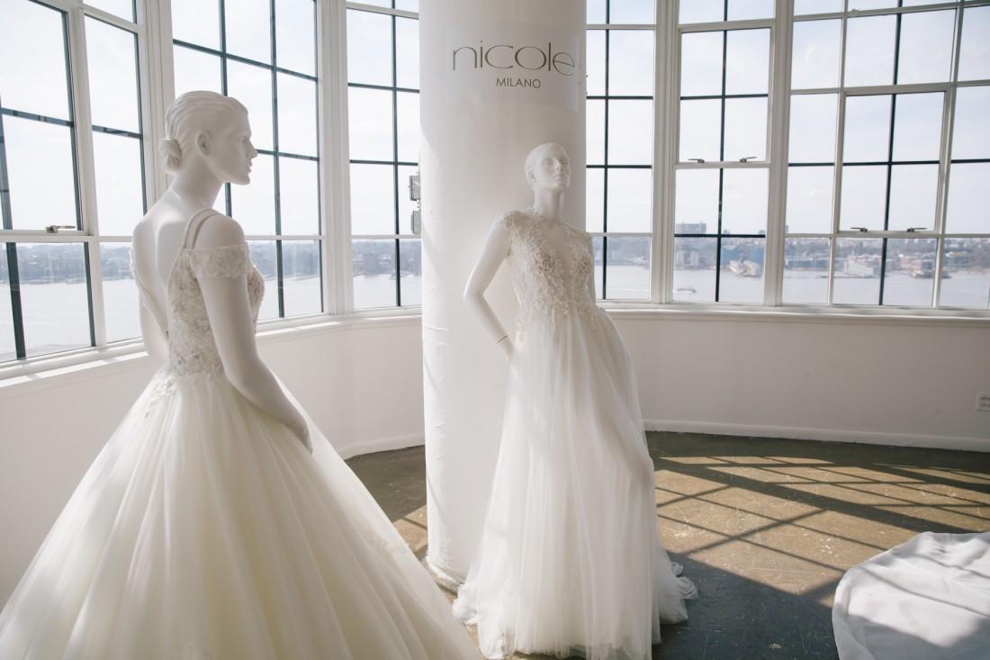 Nicole NYFW 2019 Bridal photo by Marisa Pena 1