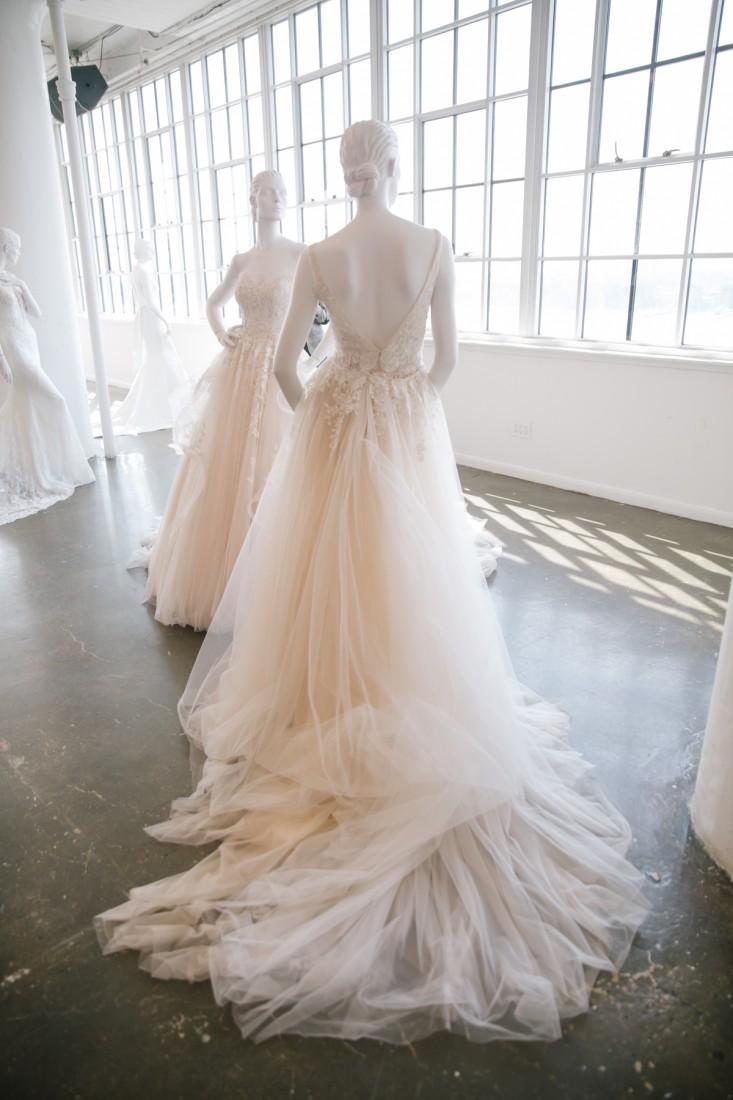 Nicole NYFW 2019 Bridal photo by Marisa Pena 12