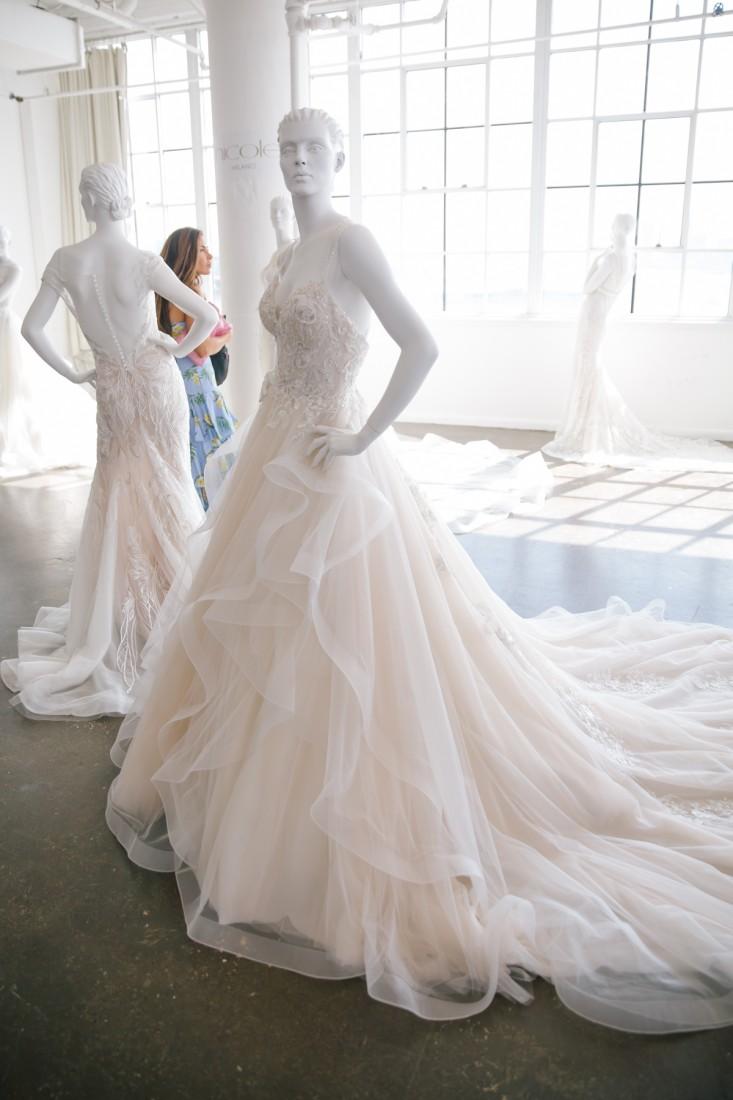 Nicole NYFW 2019 Bridal photo by Marisa Pena 13