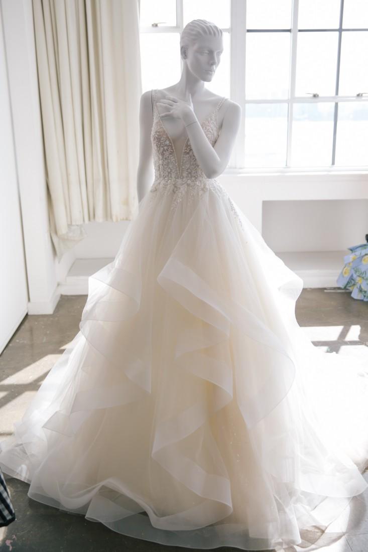 Nicole NYFW 2019 Bridal photo by Marisa Pena 14