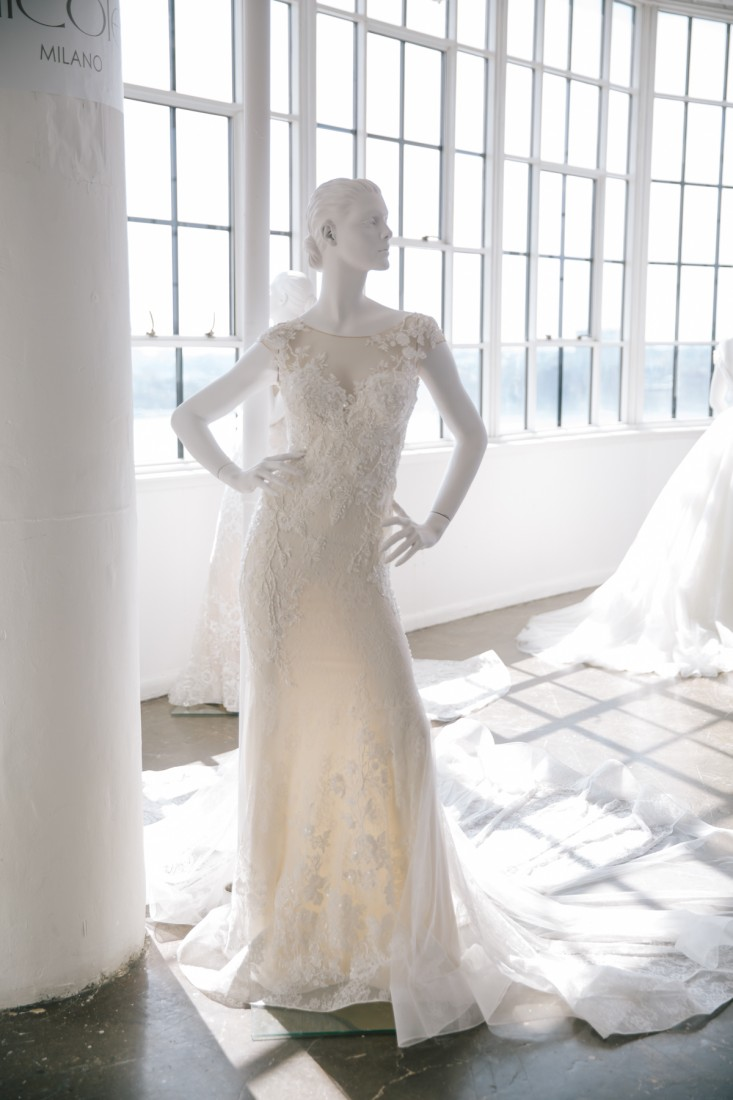 Nicole NYFW 2019 Bridal photo by Marisa Pena 15