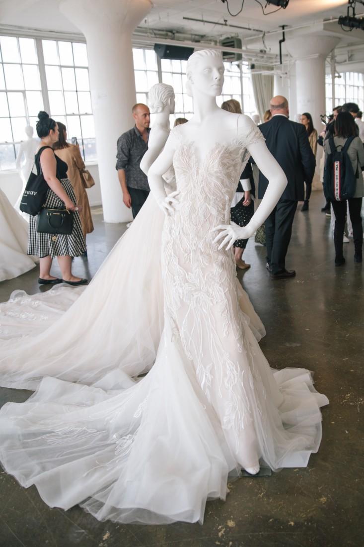 Nicole NYFW 2019 Bridal photo by Marisa Pena 16