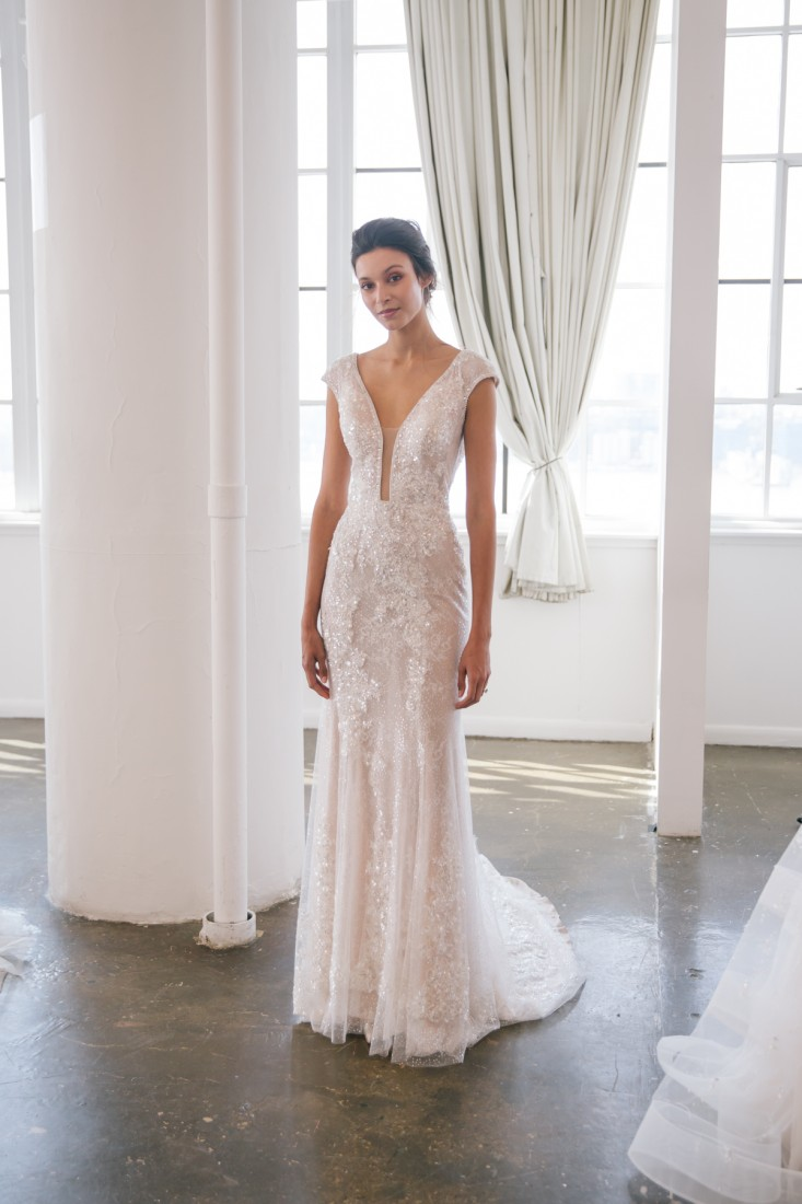 Nicole NYFW 2019 Bridal photo by Marisa Pena 19