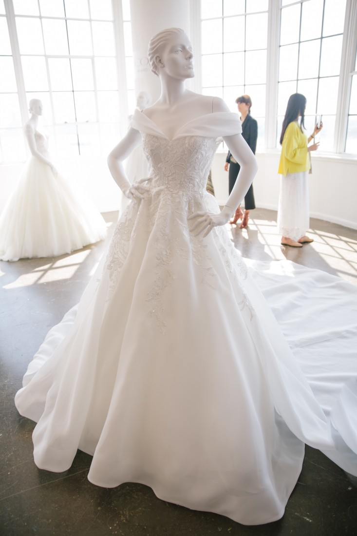 Nicole NYFW 2019 Bridal photo by Marisa Pena 2
