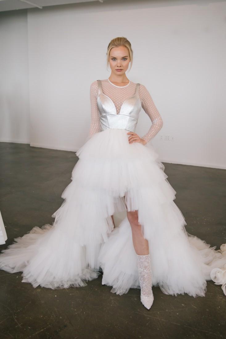 Nicole NYFW 2019 Bridal photo by Marisa Pena 21