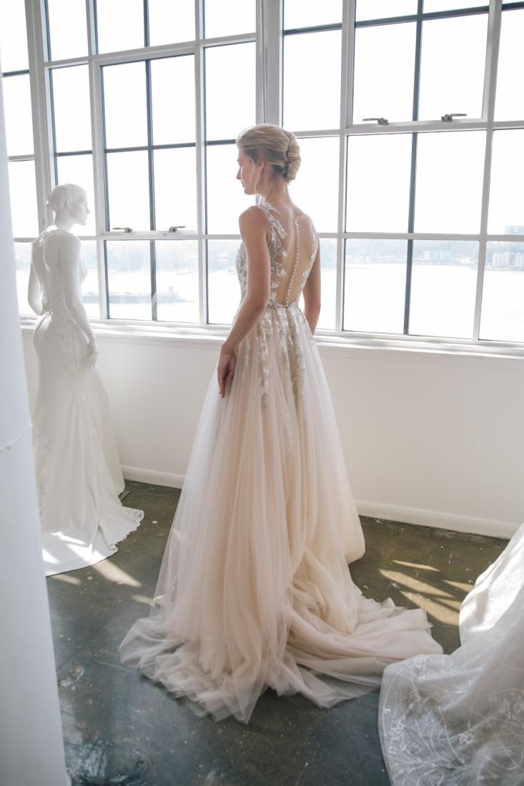 Nicole NYFW 2019 Bridal photo by Marisa Pena 23