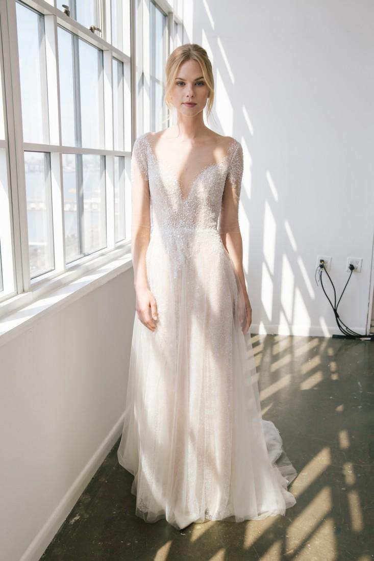 Nicole NYFW 2019 Bridal photo by Marisa Pena 24
