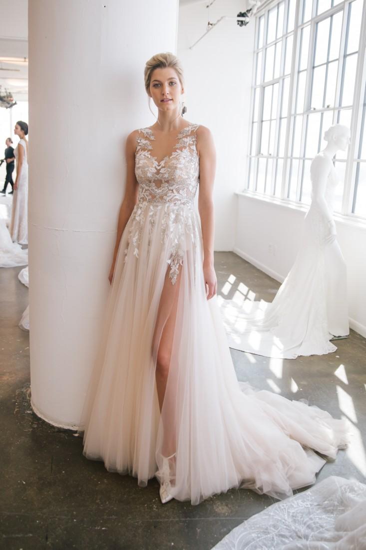 Nicole NYFW 2019 Bridal photo by Marisa Pena 25